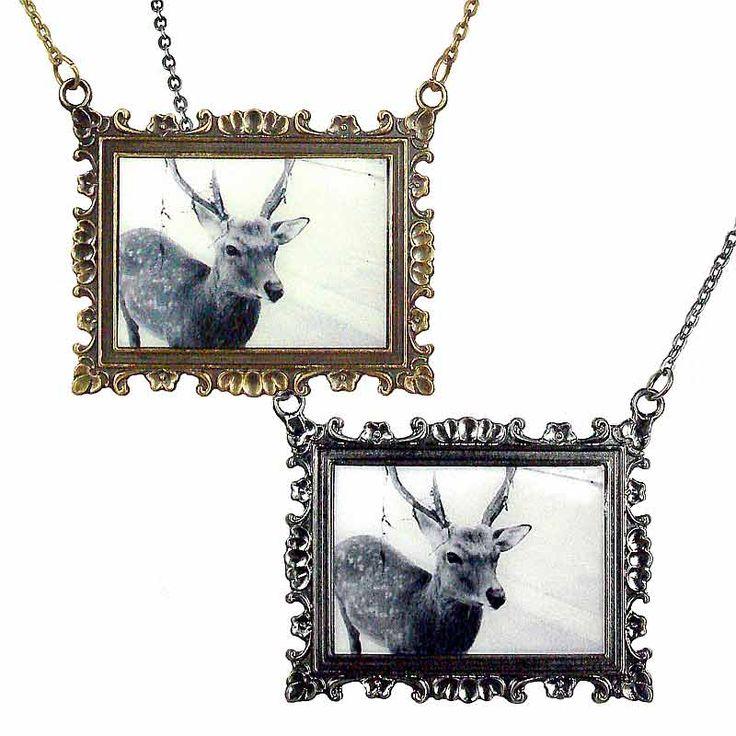 Deerie Me Necklace