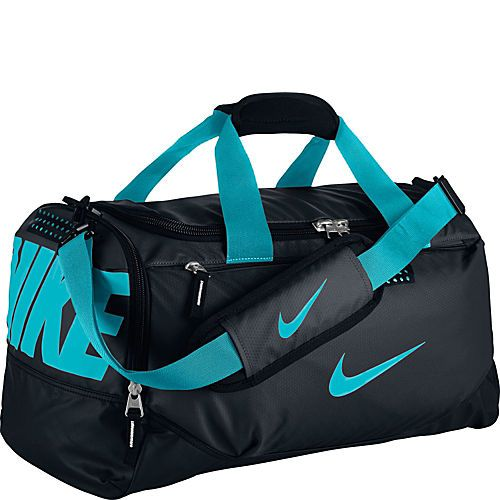 Nike Team Training Small Duffel In Black Gamma Blue 35 99 Sports Bagnike