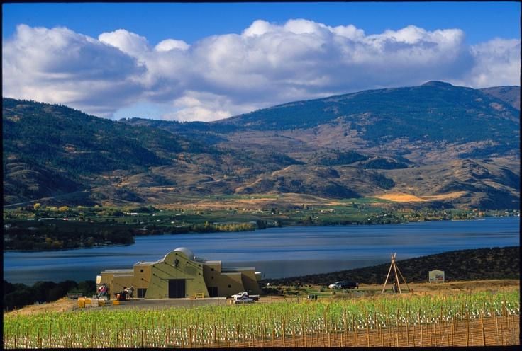 Nk'Mip Cellars Winery at Spirit Ridge Vineyard Resort & Spa in Osoyoos, BC