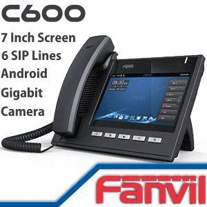 Fanvil C600 Media Phone - http://www.vdsae.com/product/fanvil-c600-media-phone/