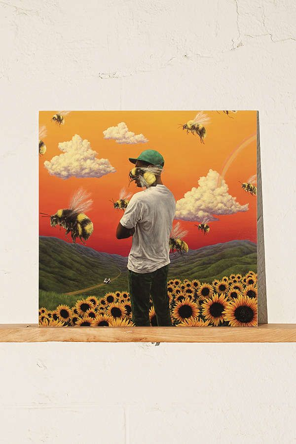 Tyler the Creator, Flower Boy. Vinyl, (If you cant find it, the CD is fine too :) )