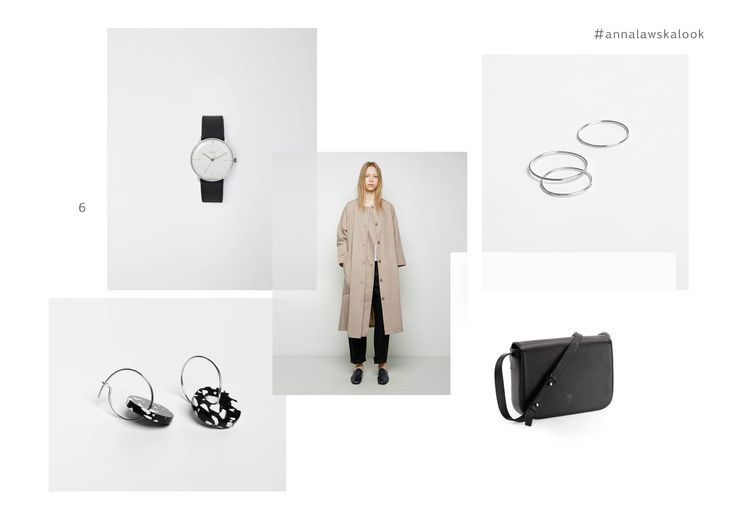 earring - kiki - Anna Ławska x Fenek and rings - collection back to basic -