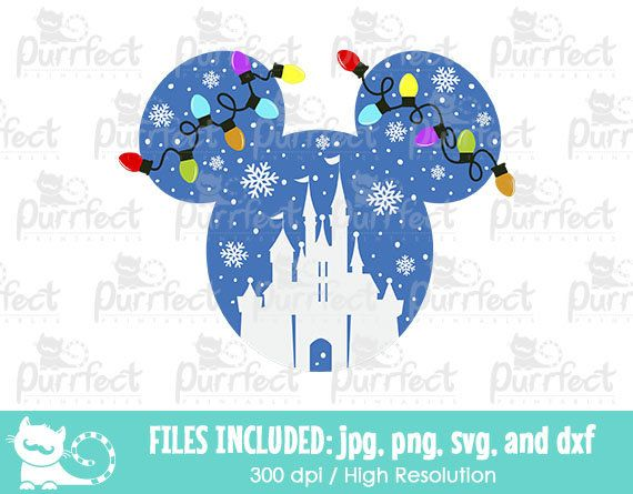 Mickey Disney Castle Vinyl Decal Picture Frame Window Coffee Mug Yeti Tumbler Glitter Disney Silhouettes Disney Castle Silhouette Disney Silhouette