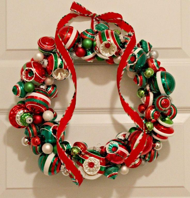 Christmas Ornament Wreath 94 best Christmas Wreaths