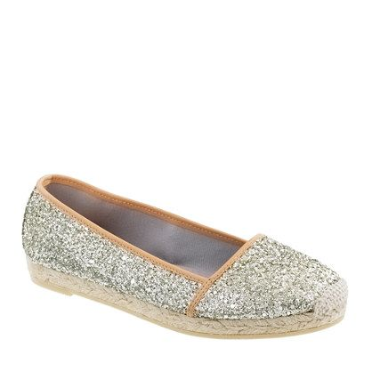 want these glitters on nails too (NOW)  #splendidsummer espadrilles from j.crew