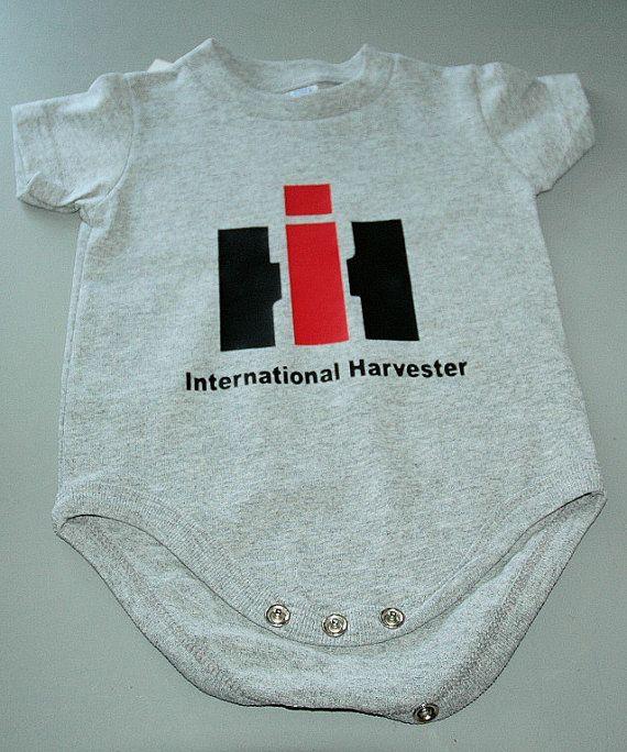 International Harvester Creeper Onesie by koolrhinestonewear, $12.99