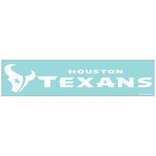 NFL Houston Texans Perfect Cut Decal 4 x 16 * Be sure to check out this awesome product.
