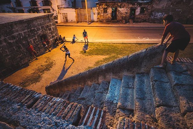 The old city of Cartagena is surrounded by seven miles of defensive wall built by the Spanish to keep out pirates and raiders and protect their riches. These days its a major feature of the city and a place for everyone - lovers stroll along its top and local boys play baseball. . . . #alaskatoargentina#bicycletouring #bikepacking #cyclinglife #pedalforever #exploretheworld#theglobewanderer #igtravel #roamtheplanet#getlost #keepexploring #exploretocreate#travelphoto#lifeofadventure…