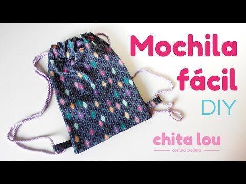 Mochila fácil. Tutorial DIY - Blog Chita Lou