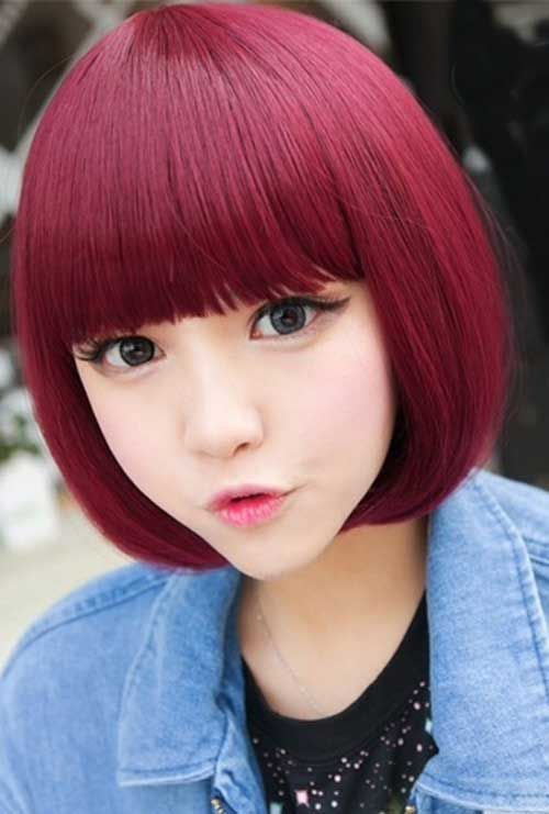 girls medium hair styles best 25 asian hairstyles ideas on asian 4415 | dbfed600754b7d51aa5e17c5aed88440 short hairstyles with bangs hairstyle for women