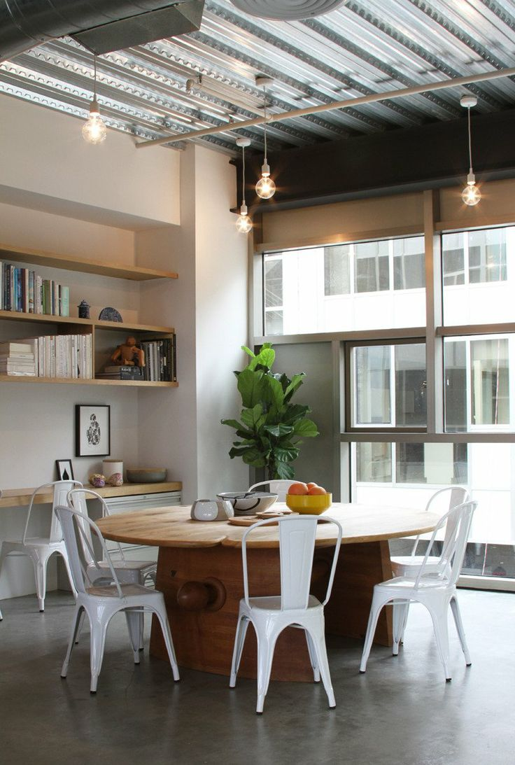 75 best dining room images on pinterest for Studio apartment office