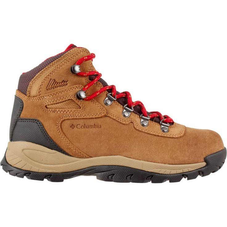 Columbia Women's Newton Ridge Plus Amped Waterproof Hiking Boots, Elk