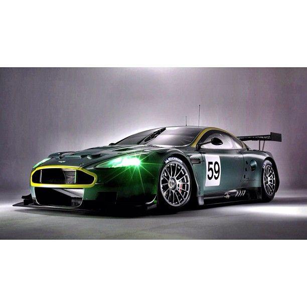 Gorgeous Aston Martin Racing Car