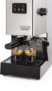 Gaggia Classic Espresso Machine Review | The Gaggia Classic Espresso Machine is a newer version of a classic coffee machine that has been around for a while. This Gaggia Classic  (Read the Full Review)   https://bestcoffeemachinereviews.net/gaggia-classic-espresso-machine/