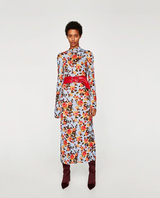 Guest dresses for autumn weddings: Zara