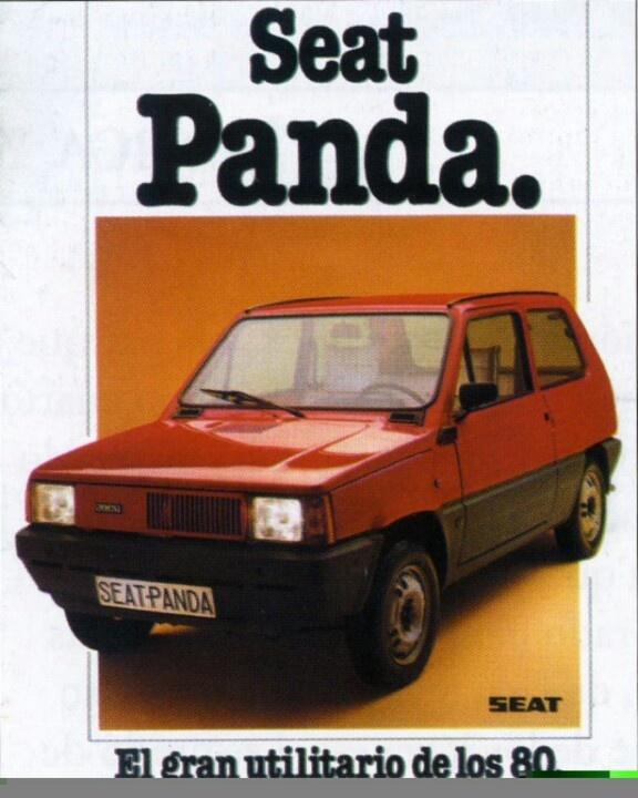Publicidad Seat panda