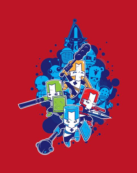 [Crashers] by rollbiwan is being reviewed on www.ShirtRater.com!  #castle crashers #gaming
