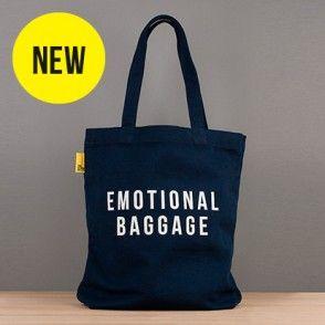 Emotional Baggage Tote - Navy