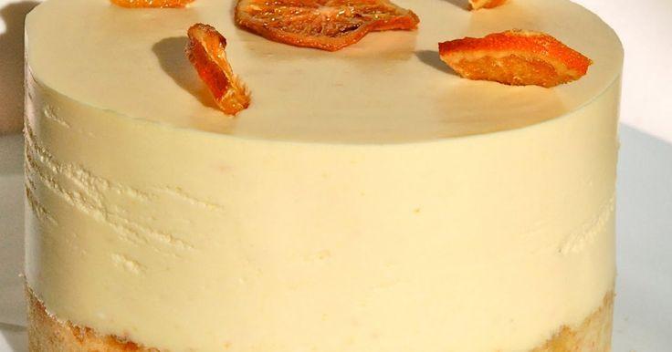 Dulces bocados: Tarta de naranja con corazon de chocolate