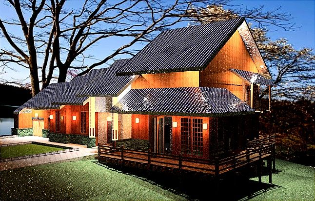 17 best ideas about traditional japanese house on - Asian house designs and floor plans ...