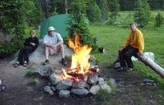 Camp fire skits