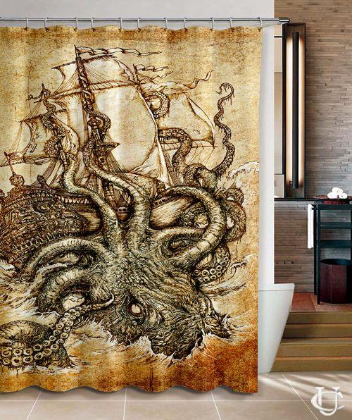 Best 25+ Octopus bathroom ideas on Pinterest | Octopus decor ...