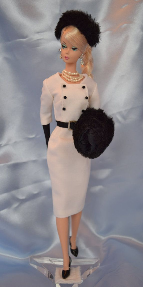 Barbie Fashion  Winter White by ShhDollWorks Sold on Etsy