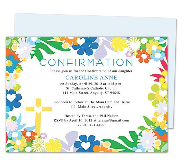 17 best images about sacrament of confirmation on for Free printable confirmation invitations template