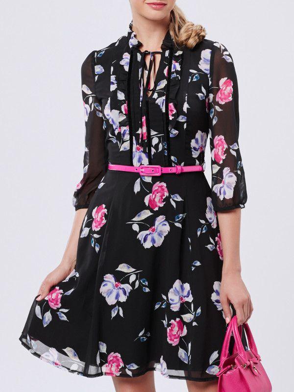 She's lovely dress