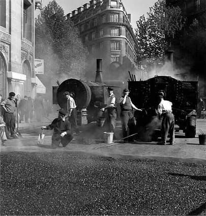 Asphalteurs, Paris 1949 ~Repinned Via Catherine