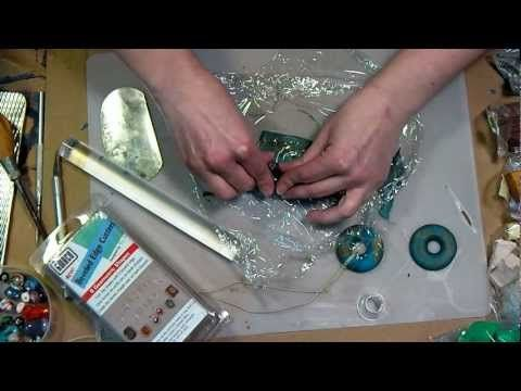 ▶ How to make perfect buttons and cabochons with polymer clay - YouTube