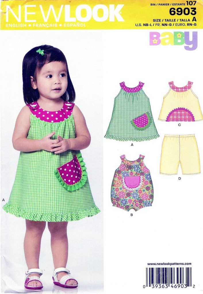 38 best New Look Girls\'/Toddlers\'/Babies\' Sewing Pattern Collection ...