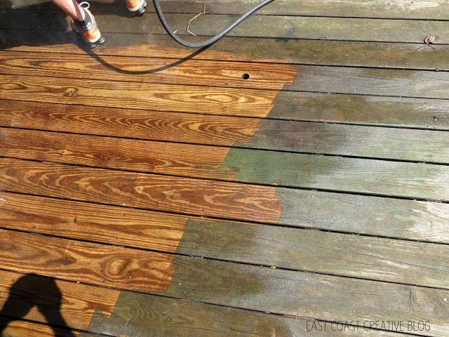East Coast Creative: Power-washing Saved My Deck's Life