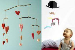 Imagens: http://patchworkpottery.blogspot.com.br e http://themoustachebaby.com