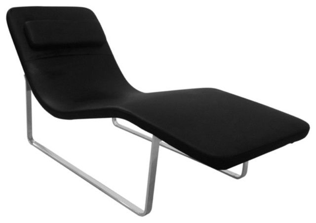 Unique Indoor Chaise Lounge Chairs Looks Very Elegant