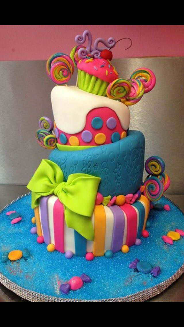 Spring Party Cake