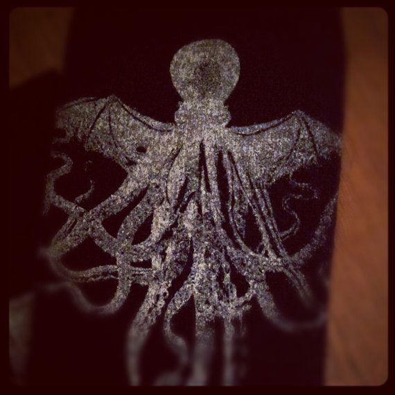 H.P. Lovecraft's Cthulhu Kraken sea monster by DanceMacabre
