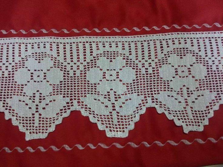 Mejores 72 im genes de puntas en crochet en pinterest - Puntas de ganchillo ...