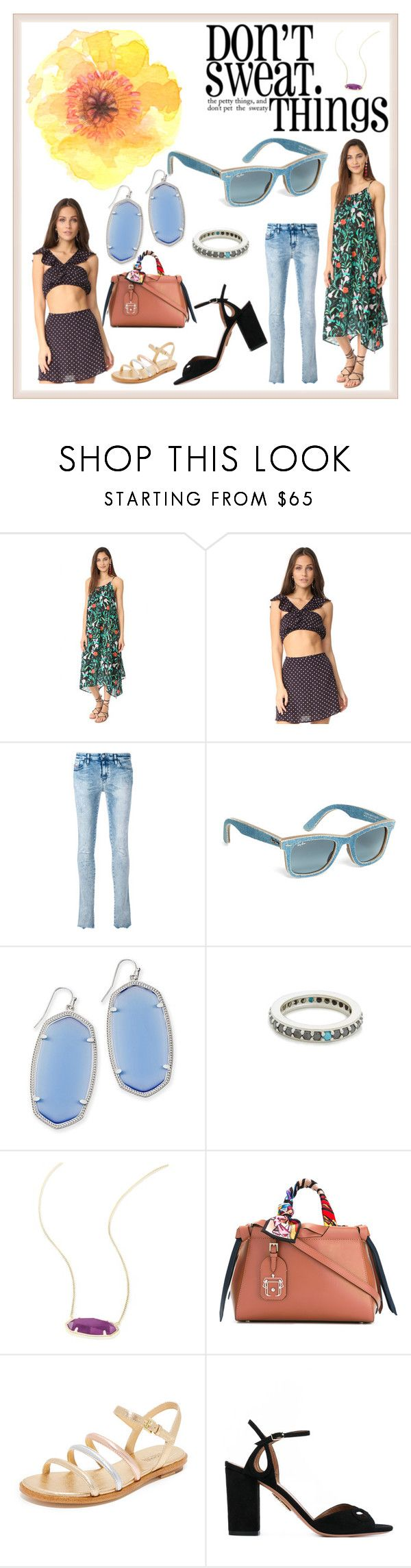 """Don't Sweet things"" by denisee-denisee ❤ liked on Polyvore featuring Kate Spade, For Love & Lemons, Diesel, Brooks Brothers, Kendra Scott, Fayt Jewelry, Paula Cademartori, MICHAEL Michael Kors and Aquazzura"