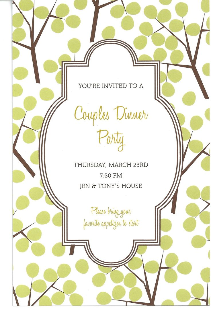 17 Best images about southern invitations – Dinner Invitation Templates Free