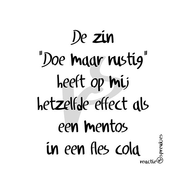 Mentos in een fles cola #humor #grappig #Nederlandse #tekst