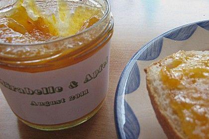 Apfel - Mirabellen Marmelade, ein raffiniertes Rezept aus der Kategorie Frühstück. Bewertungen: 4. Durchschnitt: Ø 3,2.