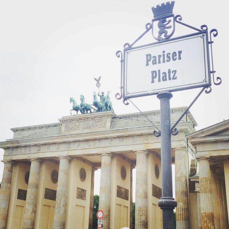 Brandenburger Tor / Pariser Platz in Berlin