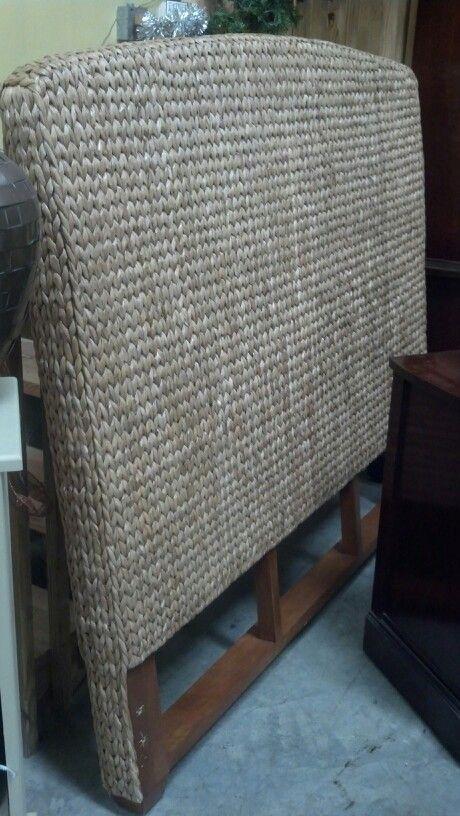 queen woven seagrass headboard - Seagrass Headboard