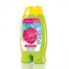 """Płyn do mycia ciała i do kąpieli """"Wirująca truskawka"""" 250ml"""