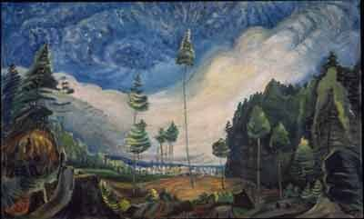 Emily Carr,  Logger's Culls Fine Art Reproduction Oil Painting