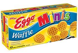 Kellogg's® Eggo® Minis waffles