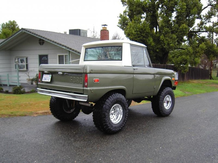 118 best images about 66-77 Bronco on Pinterest