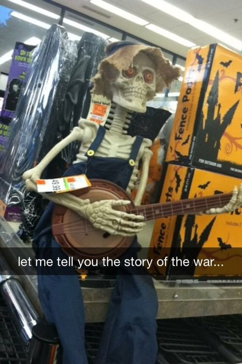 Let me tell you about the great skeleton war