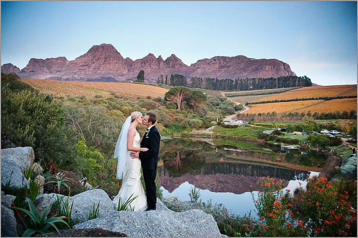 Robyn & Greg's Hidden Valley wedding in Stellenbosch, Cape Town. Photo by Lauren Kriedemann